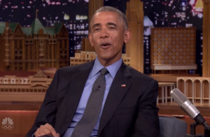 Barack Obama surpreende e canta 'Work', de Rihanna, em programa de TV. Vídeo!