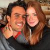 Marina Ruy Barbosa viaja com namorado, Xande Negrão, para interior de São Paulo