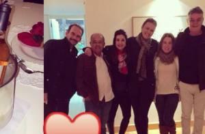 Zilu Godoi, solteira, curte Dia dos Namorados ao lado de amigos: 'Dia do amor'