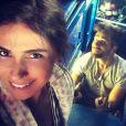 Giovanna Antonelli e Bruno Gagliasso já gravam a novela 'Sol Nascente'. Os atores serão os protagonistas da próxima trama das seis