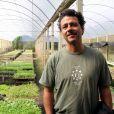 Marcos Palmeira possui uma fazenda no interior do Rio de Janeiro, onde produz alimentos orgânicos