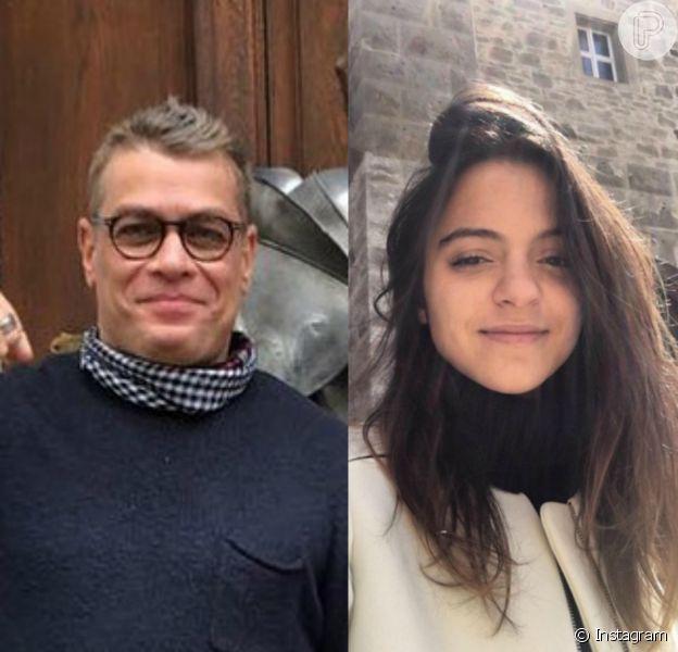 Fabio Assunção e a namorada, Pally Siqueira, estão passeando pela Alemanha, para onde viajaram no dia 08 de junho de 2016