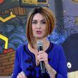 Fátima Bernardes apostou em peruca estilosa no 'Encontro' desta terça-feira, 14 de junho de 2016