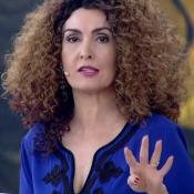 Fátima Bernardes usa perucas no 'Encontro' e é comparada à Taís Araújo: 'Adorei'