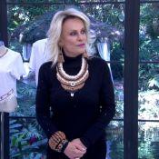 Ana Maria Braga usa bijuterias feitas de feijão e web repercute: 'Riquíssima'
