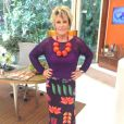 A brincadeira de Ana Maria Braga começou em abril de 2013 com um colar feito de tomates no 'Mais Você'