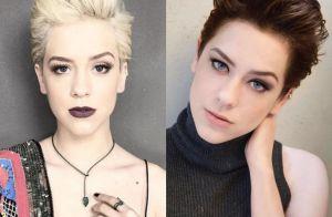 Sophia Abrahão abandona fios platinados e adota cabelo castanho: 'Acordei assim'