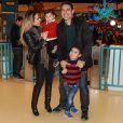 Wanessa se diverte na festa de aniversário de 2 anos de João Francisco na companhia do marido, Marcus Buaiaz, e do filho mais velho, José Marcus
