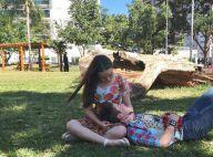 Larissa Manoela comemora 9 meses de namoro com João Guilherme: 'Dia lindo'