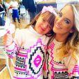 Ticiane Pinheiro e a filha, Rafaella Justus, adoram combinar os looks