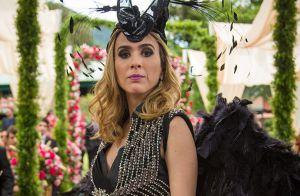 'Haja Coração': Fedora decide se casar de 'anjo dark', com vestido preto e asas