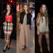 Confira os looks grifados das famosas durante o evento Rio Moda Rio. Fotos!