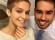 Isabella Santoni sofre com sol nas orelhas após raspar o cabelo: 'Cuidando mais'