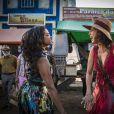 Tereza (Camila Pitanga) enfrenta Luzia (Lucy Alves), na novela 'Velho Chico'
