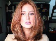 Marina Ruy Barbosa tem cabelo criticado e maquiador rebate:'Nunca usou megahair'