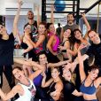 As atrizes chegaram até a fazer aula de dança juntas com o personal dancer Justin Neto