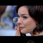 Regiane Alves se emociona com depoimento da sogra, Regina Duarte: 'Maravilhosa'