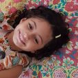 Igor Angelkorte postou no Instagram uma foto de Antônia, 8 anos, filha da sua namorada, Camila Pitanga
