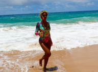 Beyoncé exibe boa forma de maiô em praia no Havaí com Jay-Z e a filha. Fotos!