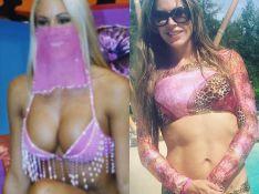 Joana Prado faz 40 anos e admite: 'Corpo de 20 não troco pelo dos 40'. Compare!