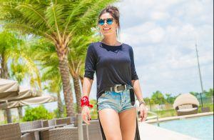 Juliana Paes hospeda família em casa de R$ 1 milhão comprada em Orlando. Fotos!