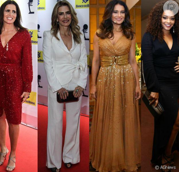 Veja os looks das famosas no27° Prêmio da Música Brasileira, que aconteceu nesta quarta-feira, 22 de junho de 2016, no Teatro Municipal, no Rio de Janeiro