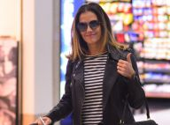 Deborah Secco usa mala de R$ 16 mil para embarcar em aeroporto no Rio. Fotos!