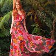 Vestidos longos e confortáveis são muito usados por Marina Ruy Barbosa