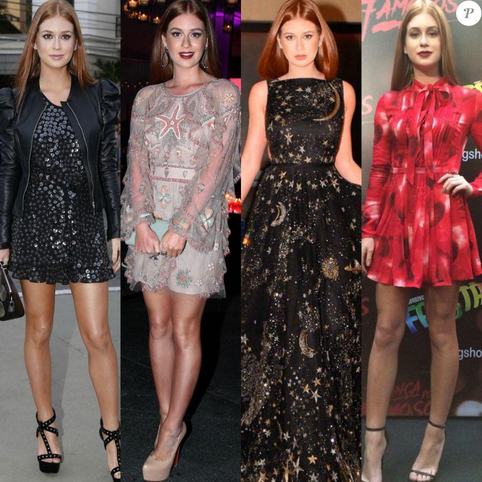 Aos 21 anos, Marina Ruy Barbosa esbanja estilo e é considerada ícone de moda. Confira 65 looks usados pela atriz desde seu último aniversário!