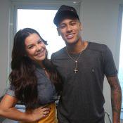 Fernanda Souza recebe Neymar em novo programa no Multishow: 'Cunhadinho'. Vídeo!