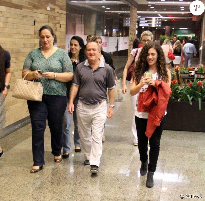 Renato Arag O Casado Com Lilian E Pai De L Vian Atriz