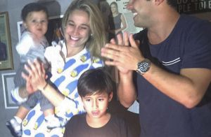 Fernanda Gentil comemora 10 meses do filho ao lado do ex: 'Orgulho dessa foto'
