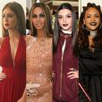 Combinar a cor do batom e do look está na moda! Confira quem são as famosas que já aderiram a tendência