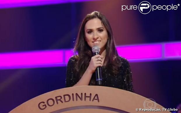 """Tatá Werneck pediu desculpas por piada com judeus, exibida no programa """"Amor e Sexo"""", em 4 de novembro de 2013"""