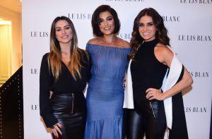 Juliana Paes, Cleo Pires e Giovanna Antonelli prestigiam evento de moda. Fotos!