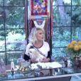 Ana Maria Braga divertiu os telespectadores do 'Mais Você' ao confundir a decoração das festas juninas com a de Natal: 'Apressada para o final do ano'