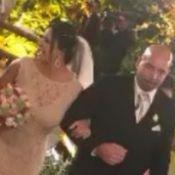 Gretchen se casa mais uma vez em cerimônia bancada por Eliana. Fotos e vídeo!