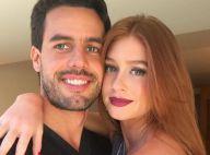 Marina Ruy Barbosa ganha declaração de aniversário do namorado: 'Amor da vida'