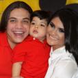 Wesley Safadão e Mileide Mihaile são pais de Yhudy, de 5 anos