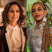 Rafael Cortez confunde Camila Pitanga com Taís Araújo no 'Vídeo Show': 'Gêmeas'