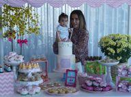 Deborah Secco faz festa junina para celebrar 7 meses da filha, Maria Flor. Fotos