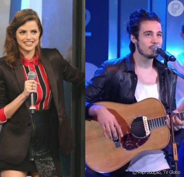 Tiago Iorc elogia Agatha Moreira e fãs querem romance entre os dois, como comentam em postagem do último domingo, dia 03 de julho de 2016