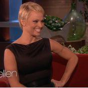 Pamela Anderson fala sobre novo corte de cabelo: 'Para recomeçar do zero'