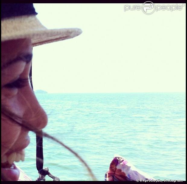 Nanda Costa publicou um registro que fez em sua cidade natal, Paraty, nesta quarta-feira, 26 de dezembro de 2012