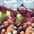 Roberto Justus compartilhou uma foto com a filha, Rafaella Justus. ' Muito amor, muita paixão, grandes momentos...', escreveu ele, em 9 de novembro de 2013