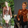 A jaqueta de couro da vilã Luisa (Guilhermina Guinle) fez sucesso com o público de 'Ti-ti-ti' em 2010 e a personagem apareceu com a peça várias vezes em cena