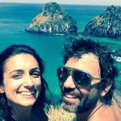 Marcelo Faria faz viagem romântica para Fernando de Noronha com Camila Lucciola