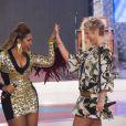Recentemente, Gaby Amarantos mostrou o resultado da dieta no 'TV Xuxa'. A loira lhe encheu de elogios