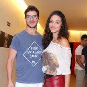 De NY, Debora Nascimento se declara para José Loreto: 'Saudades do meu colo'