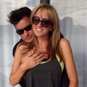 Charlie Sheen publica foto com a suposta nova namorada, Brett Rossi